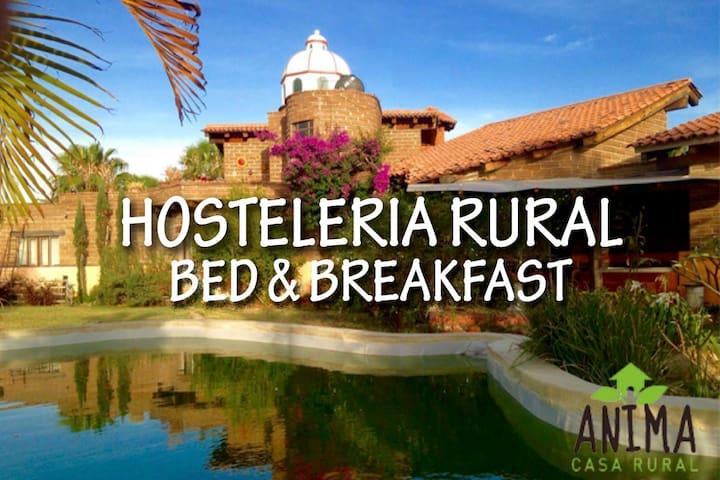 Anima Casa Rural (alojamiento tipo hostal.) - San Isidro Mazatepec - Bed & Breakfast