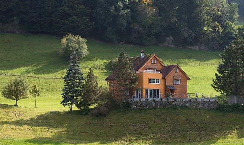 Ferienwohnung auf Bauernhof - Appenzell - Lägenhet