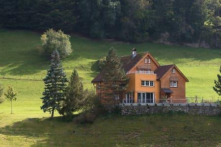 Ferienwohnung auf Bauernhof - Appenzell