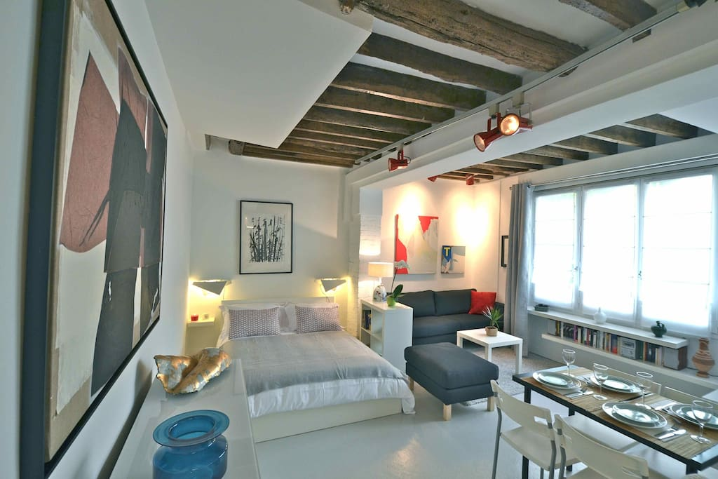 Gallery loft for 4 people le de france - Achat loft ile de france ...