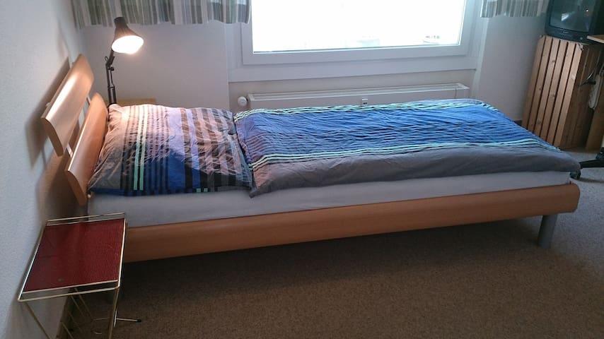 Zimmer, 10km von Basel, ohne Zmorge - Pratteln - Bed & Breakfast