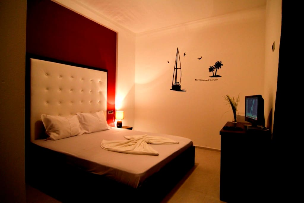 Standard double room chambres d 39 h tes louer ulcinj montenegro mont n gro - Chambre d hote ruoms ...