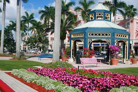 Downtown East Boca Mizner Park Apt - Boca Raton - 独立屋