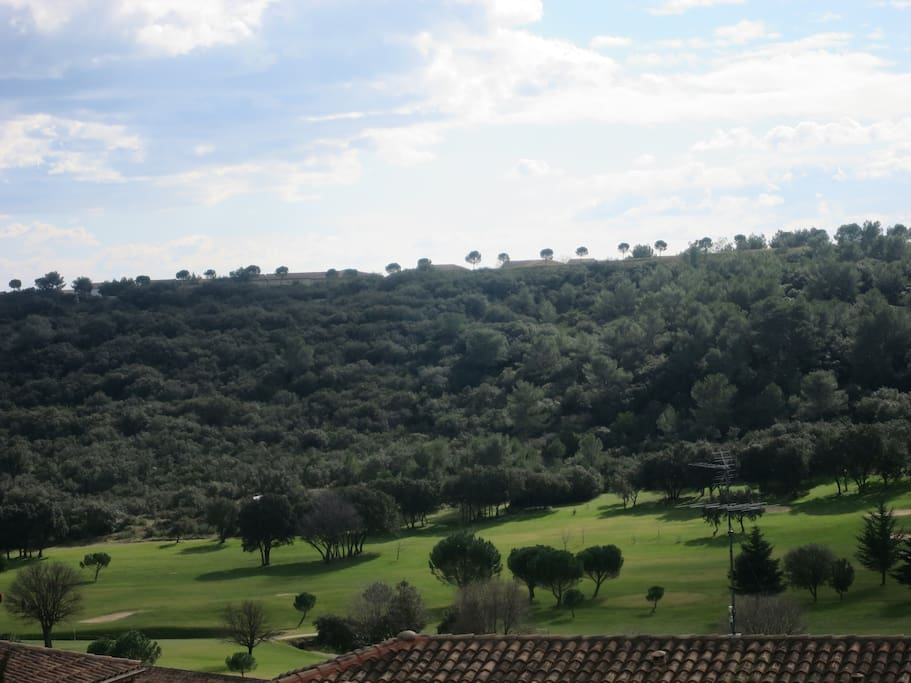 vue du golf