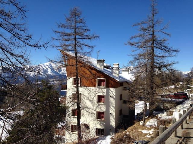 Valberg - Charmant F2, balcon vue montagne, 4 pers