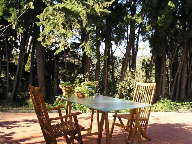 Una habitación... con jardín! - Céret - House