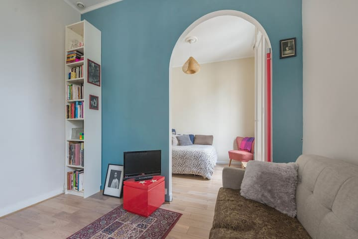 Cozy studio in Buttes Chaumont Park - Paris - Leilighet