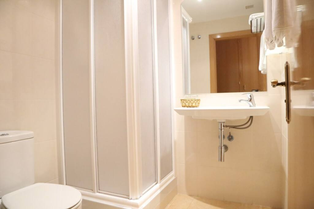 Baño privado Habitación Doble