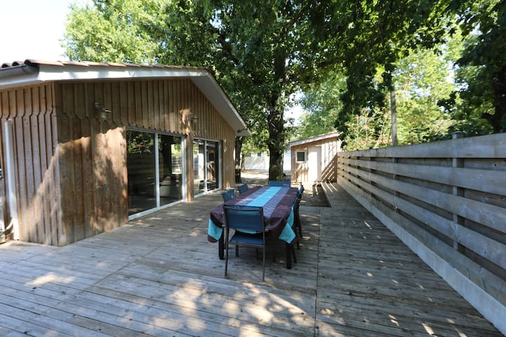 Maison bois du Bassin d'Arcachon: La Hume