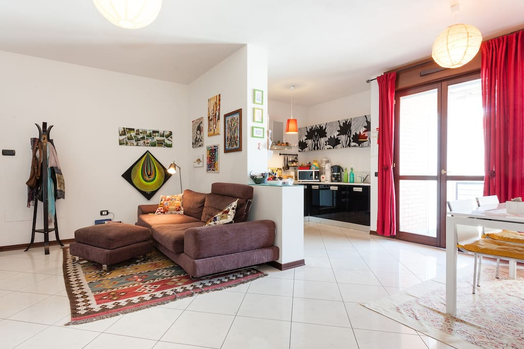 Modena cozy new apt 85 m2 with free parking lot for Appartamenti in affitto modena