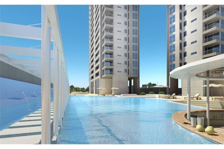 Luxury Caballito pool and spa 27th floor