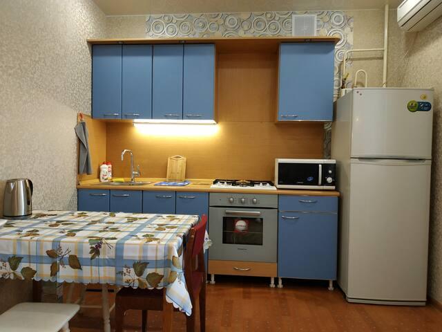 Большая и уютная квартира на пр. Ленина.