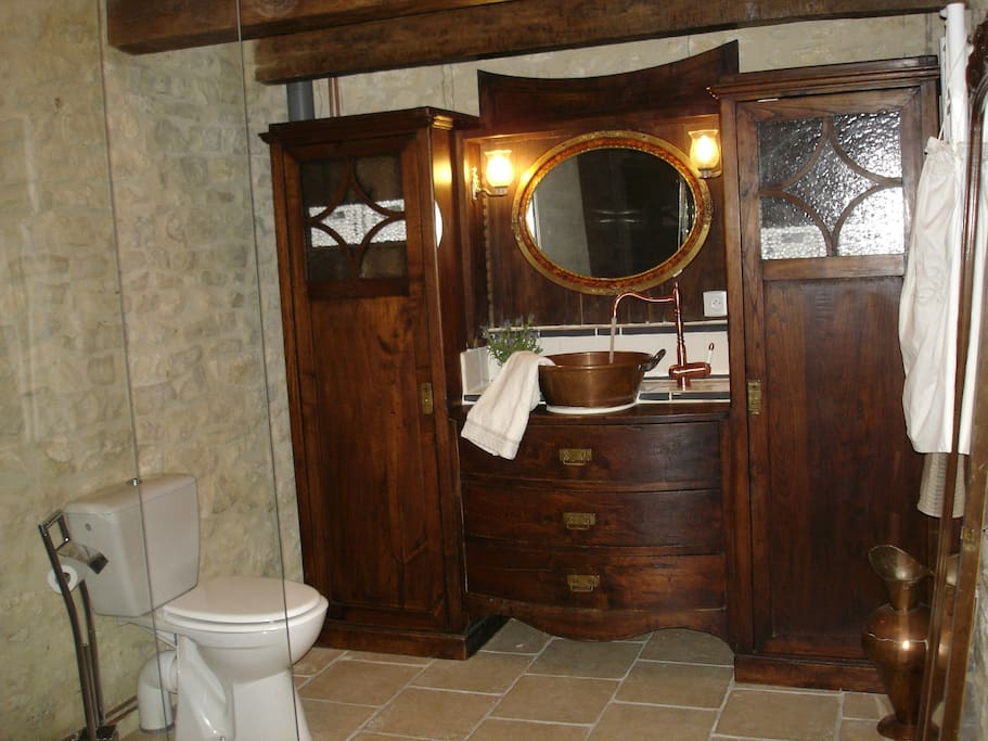 Large spa-like bathroom