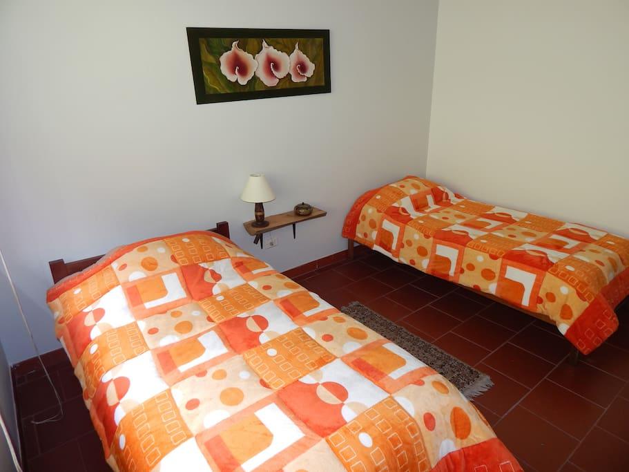 Bedrooms with excellent natural view - Habitaciones con una vista excelente
