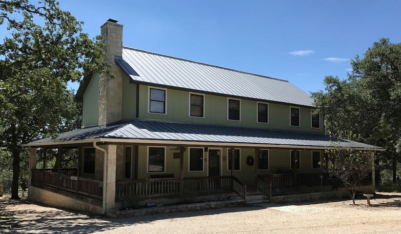 Enchanted Porch-TX Hill Country-No Cleaning Fee