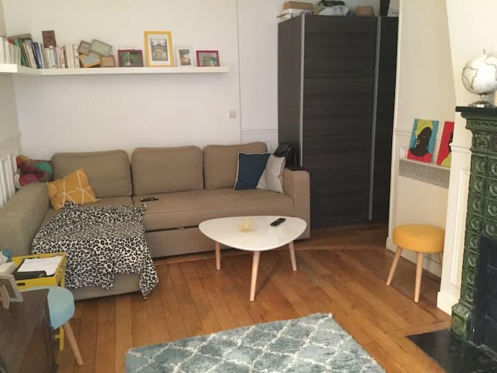 Bel appartement à Montmartre