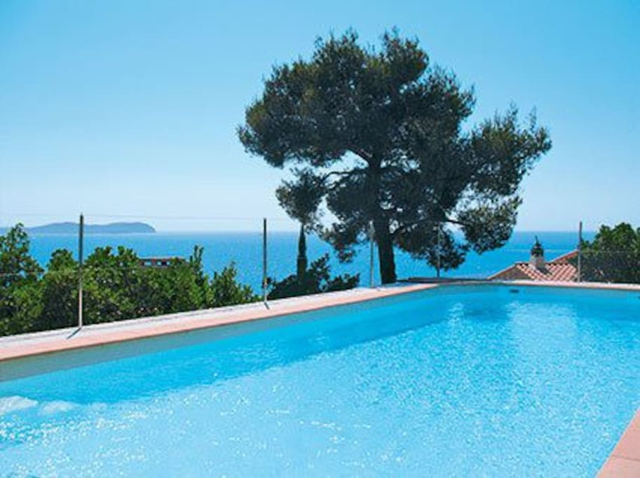 Sur la falaise face la mer piscine chauff e houses for Piscine falaise
