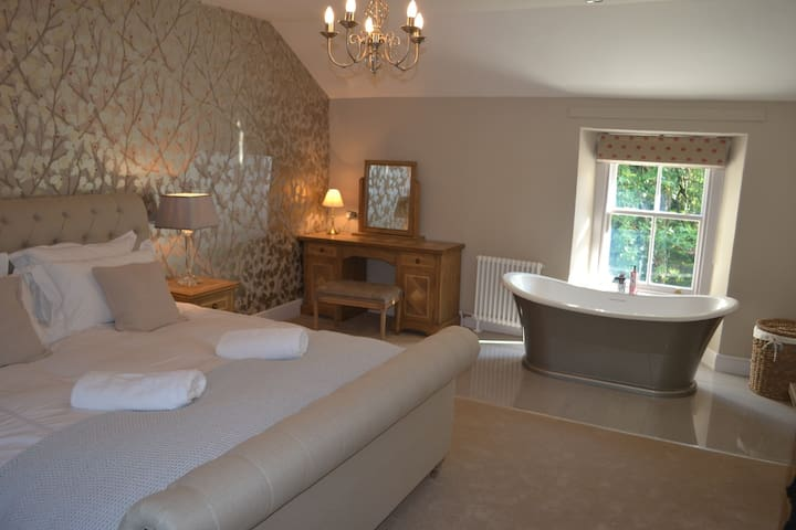 Luxurious traditional cosy cottage near Keswick - Stair - Casa