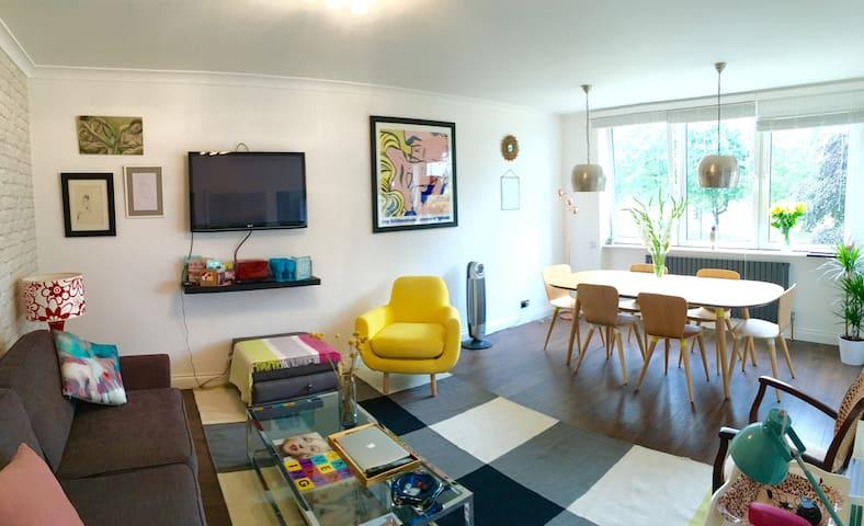 Large, sunny double room in stylish Streatham flat