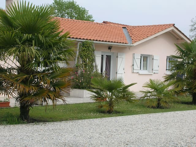 Maison jumelée avec jardin pour 5 personnes
