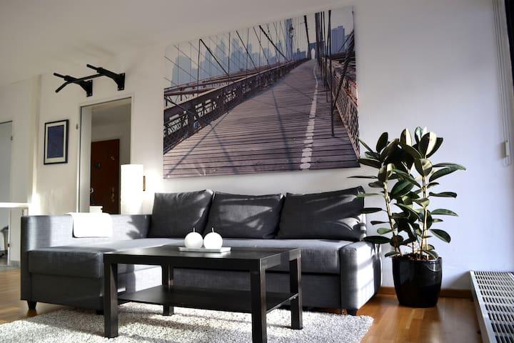 Traumhafte Wohnung direkt am Rhein! - Keulen - Appartement