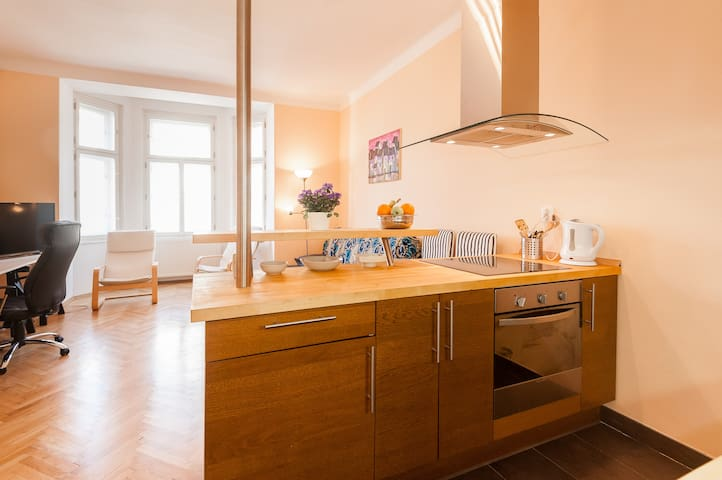 Cool apartment in Prague - ปราก - อพาร์ทเมนท์