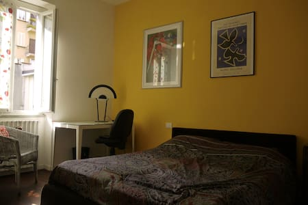 Nice quite double room in milan - Milano - Apartment
