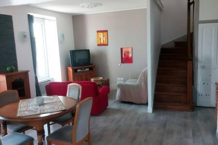 Maison de 4 chambres sur jardin au FAOU - Le Faou - บ้าน