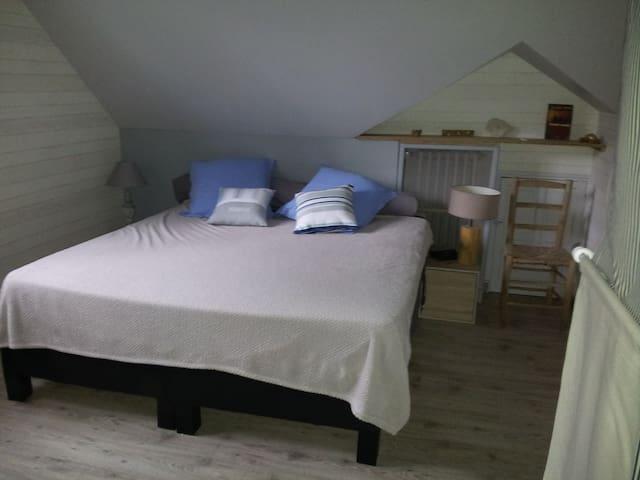 Grande Chambre proche des  24 heures du Mans - Yvré-le-Pôlin - บ้าน