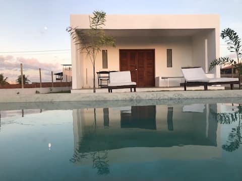 Villa Idilico  Vista ao mar e por de sol incrível!