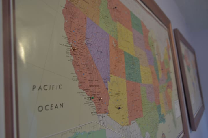 We love to see where our guests are from.