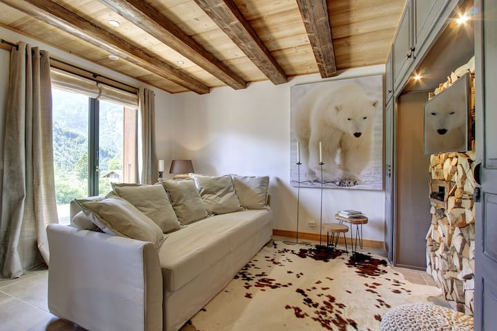 "Comfort luxury apartment ""L'Ours Blanc Lodge"" - Le Biot - Apartemen"
