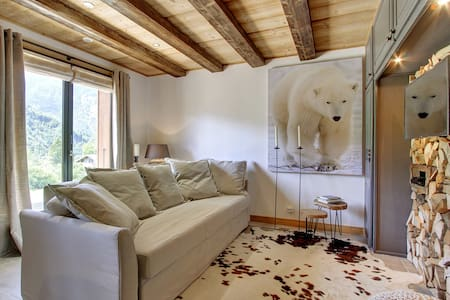 "Comfort luxury apartment ""L'Ours Blanc Lodge"" - Le Biot"