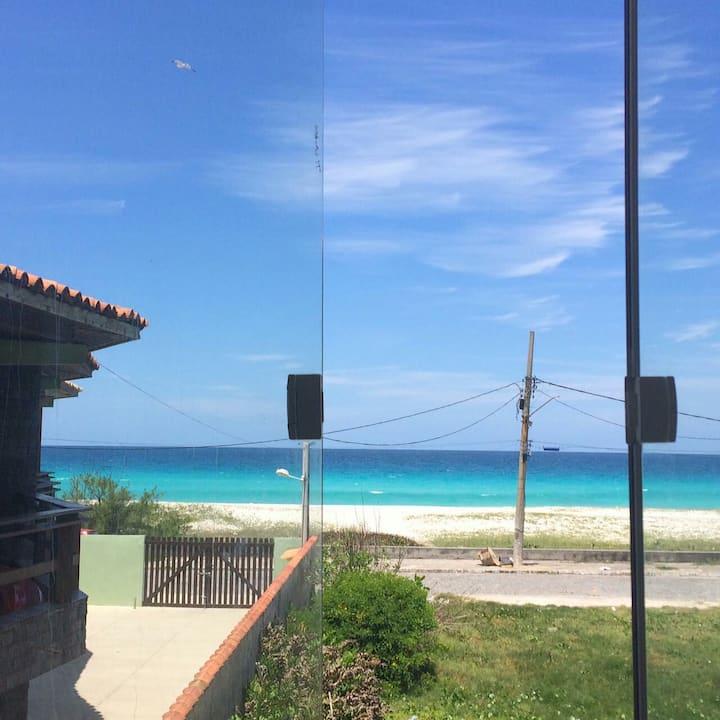Suíte com linda vista para o mar!!