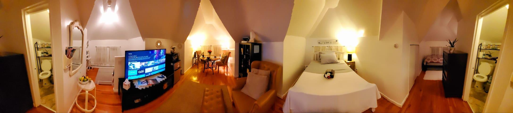 Luxury-Attic Loft