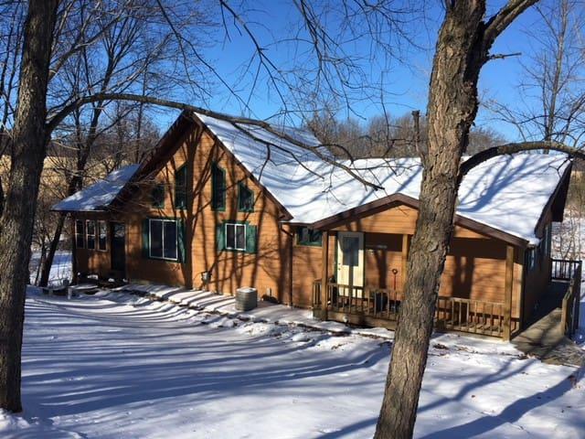 Birch lake getaways-Haven home