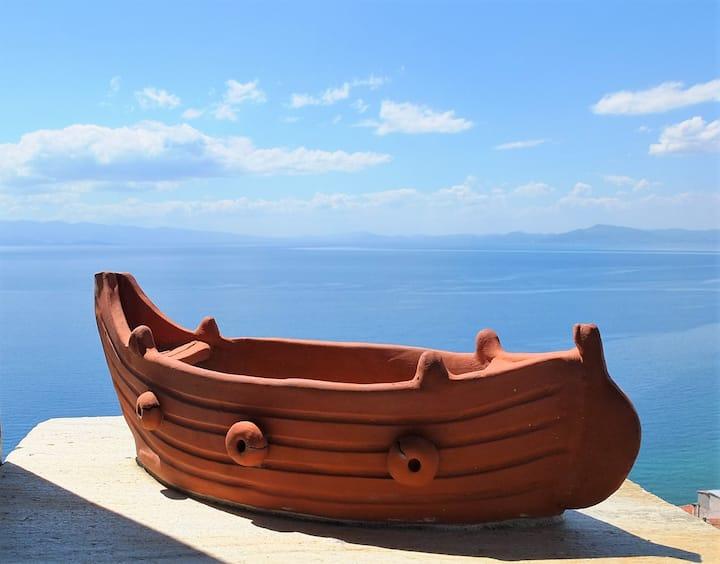 The Veranda of Afissos | Central Villa-360° view