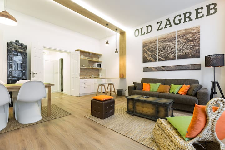 New Modern Apartment In Heart Of Old Zagreb