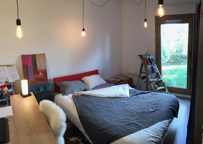 Cosy Room in Bois d'Arcy with public transport - Paris - Apartamento
