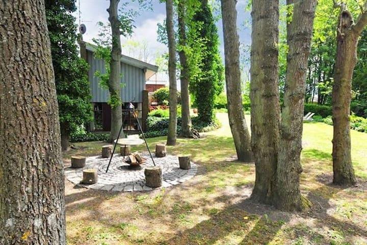 Arkitekttegnet bolig tæt på skov og strand - Sønderborg - Vila