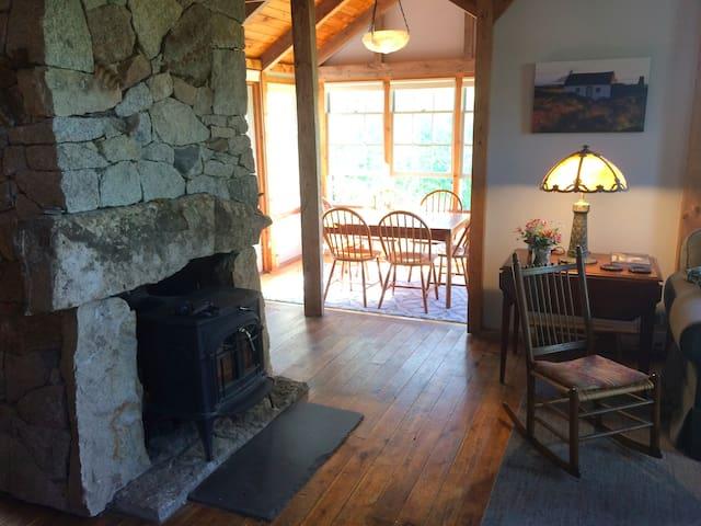 Cottage at Goose Marsh Pond near Acadia