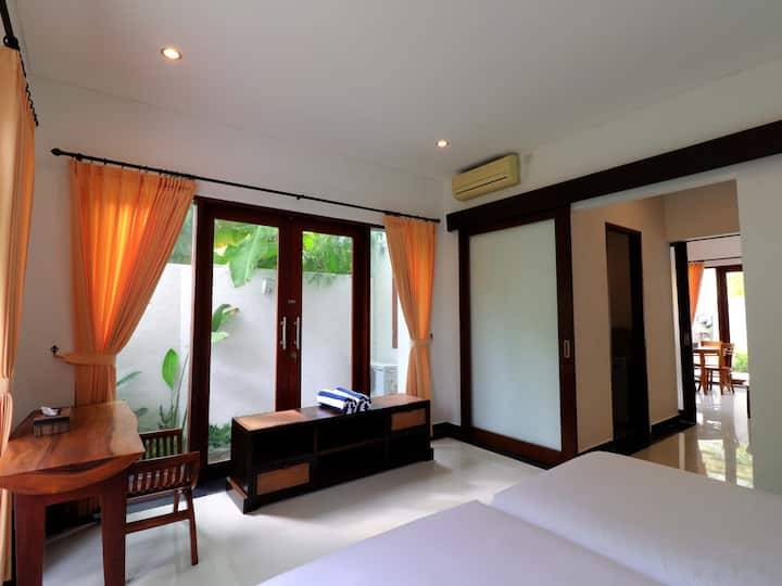 """75% OFF""Sanur Private room 110 W/ terrace&kitchen"