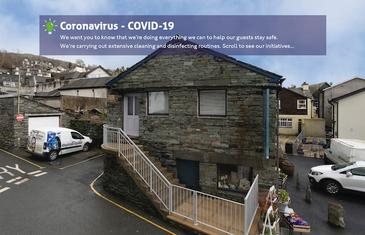 The Sorting Office - Spacious Modern Home with parking in Central Ambleside