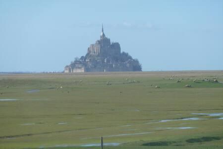 Gîte pour 10personnes avec vue sur le Mt St Michel