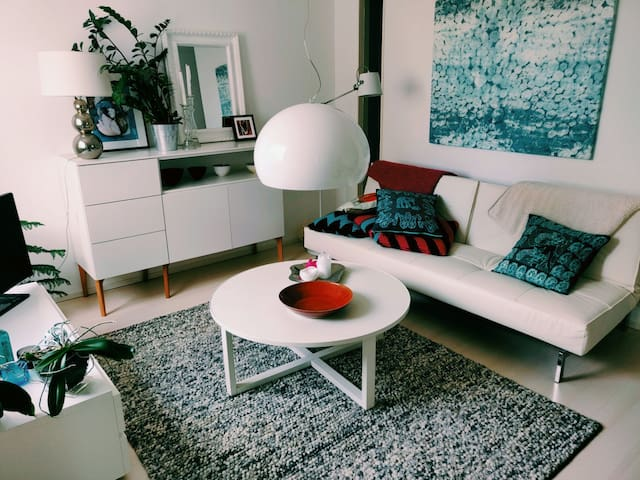 Pretty two-room apartment in Hakunila