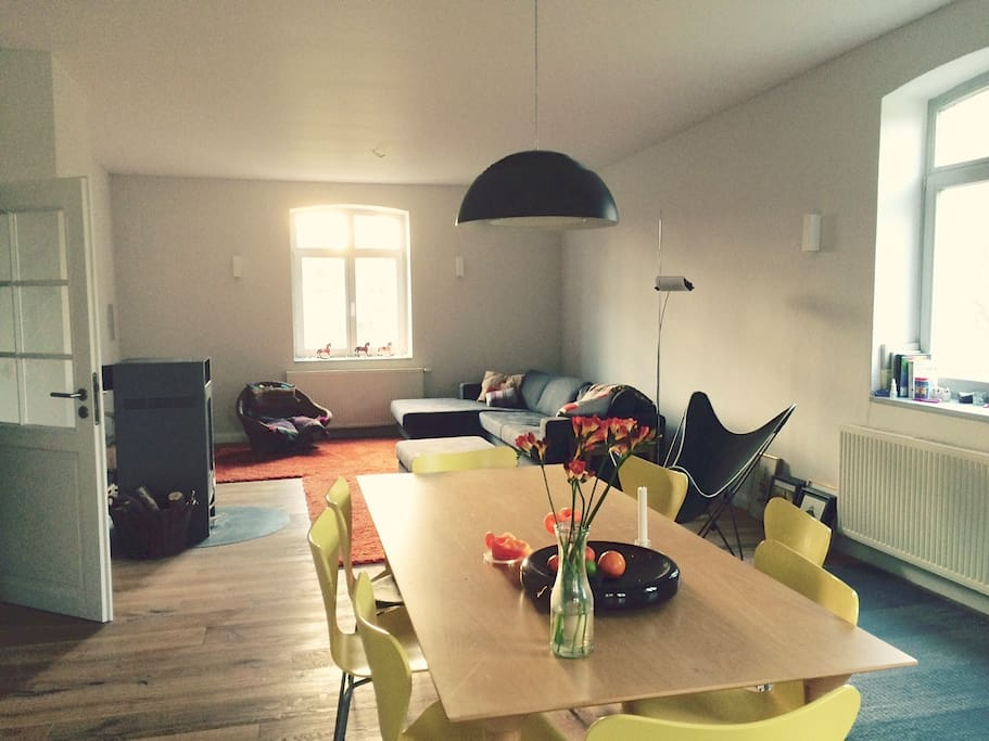 Wohnraum / Kaminofen
