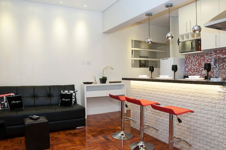 Best studio in Downtown Sao Paulo - เซาเปาโล