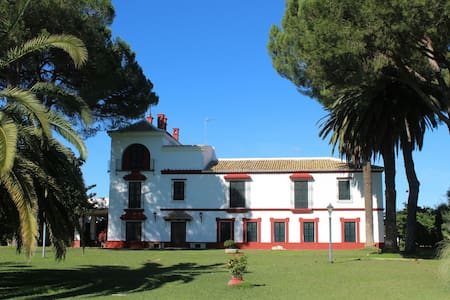 Hacienda(Cortijo) with pool in Doñana N. Park. - Villamanrique de la Condesa - Talo