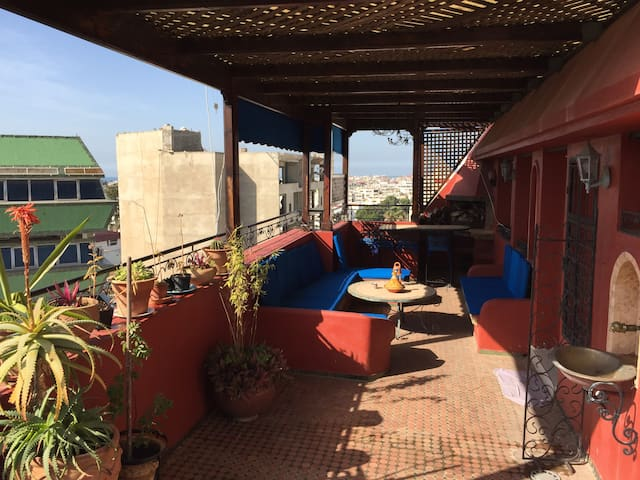 Center Penthouse Oasis, Big Terrace - Rabat - Wohnung