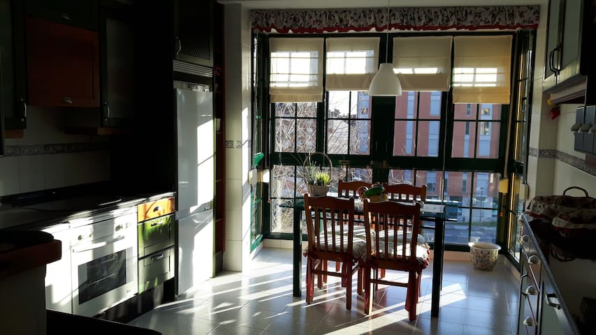 Dúplex amplio y luminoso en el centro de Oviedo - Oviedo - House